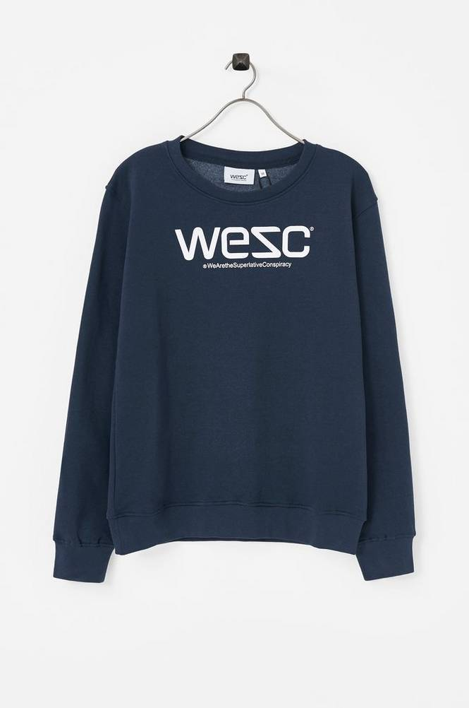 WeSC Crewneck Jr -collegepusero