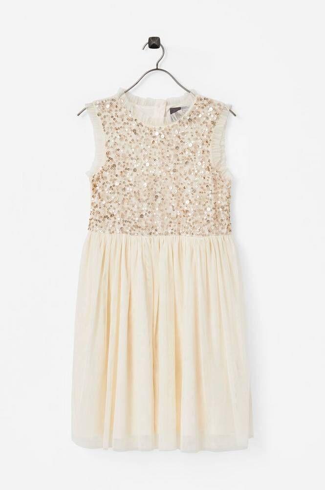 Creamie Sequins Dress -mekko