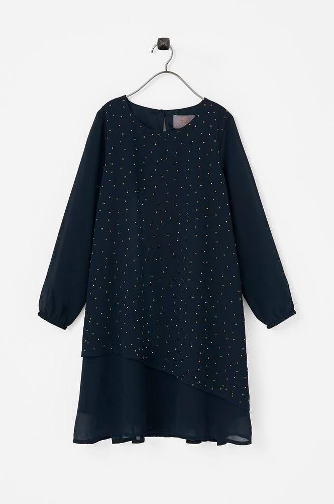 Creamie Layer Chiffon Dress -mekko