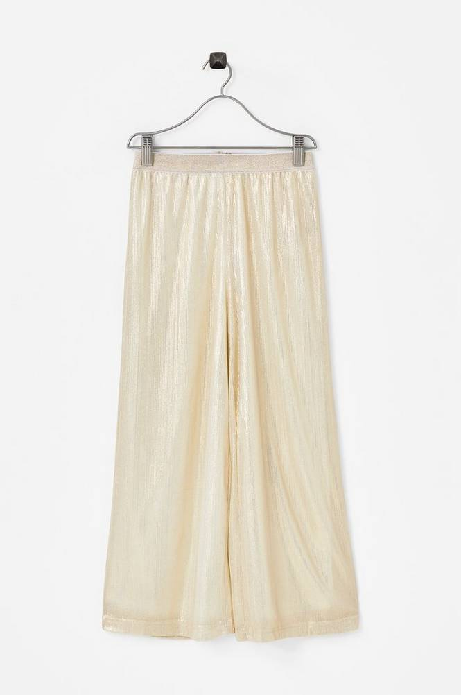 Creamie Gold Pants -housut