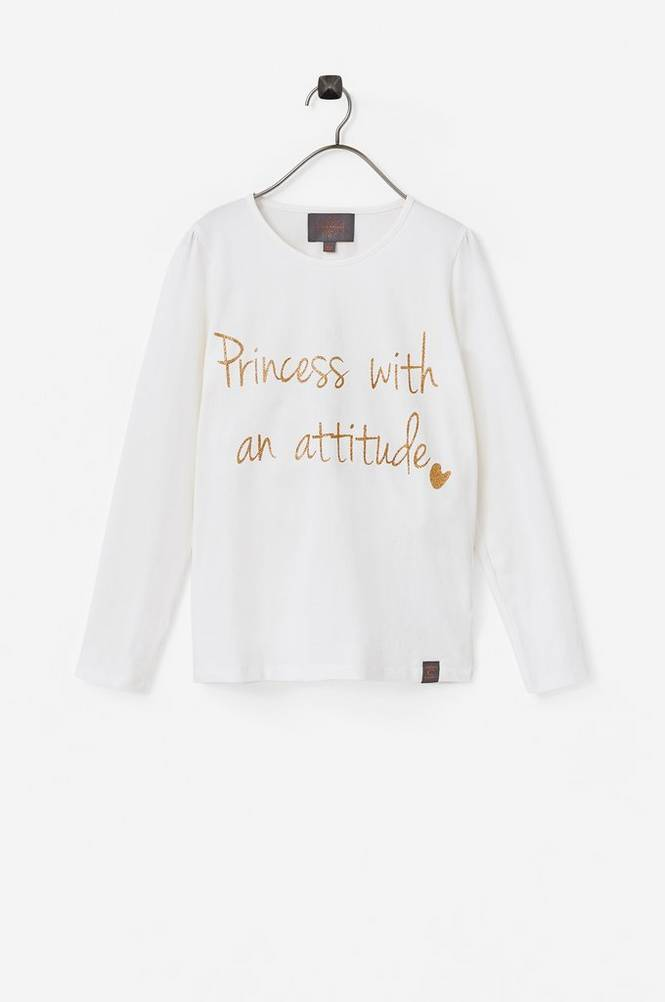 Creamie Text LS T-shirt -pusero
