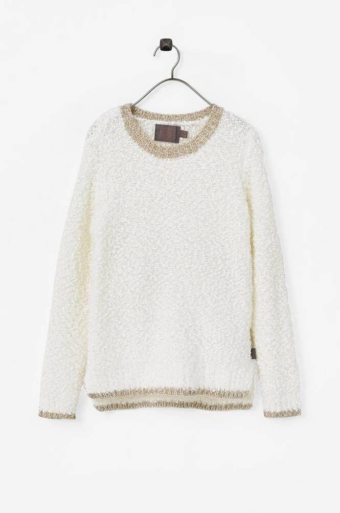 Creamie Fluffy Pullover neulepusero