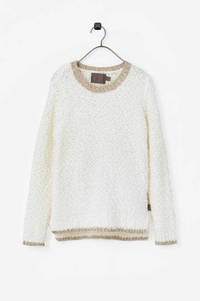 Creamie Fluffy Pullover -neulepusero