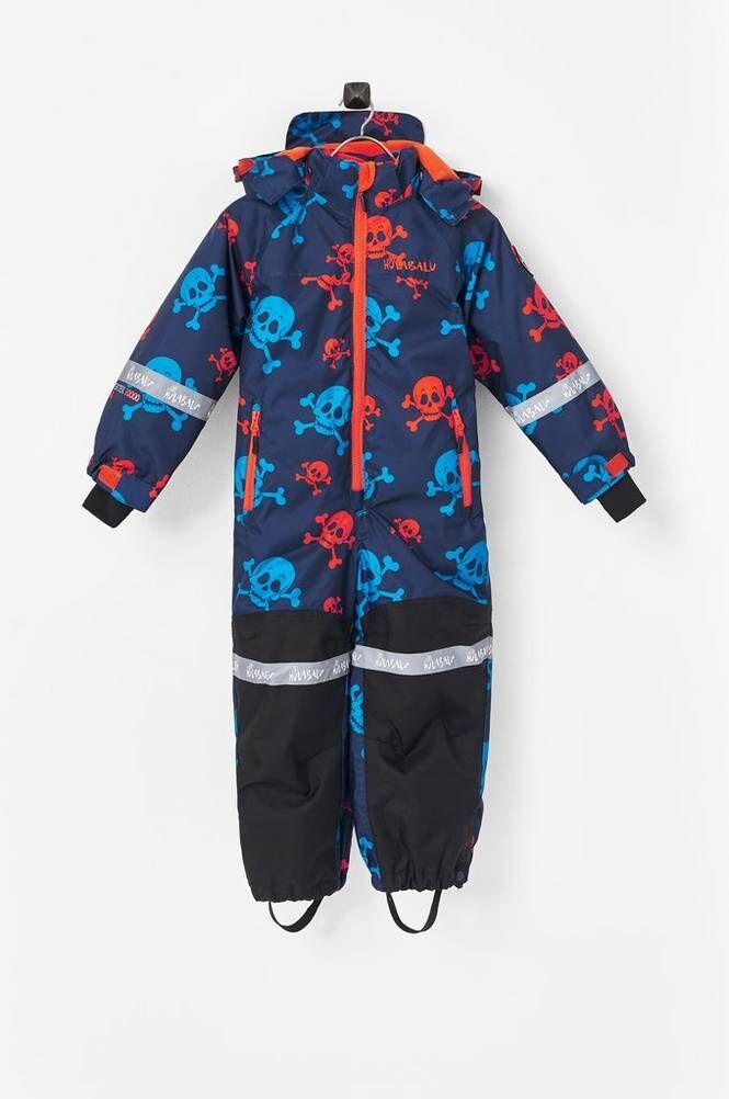 Hulabalu Skulls Snowsuit -talvihaalari
