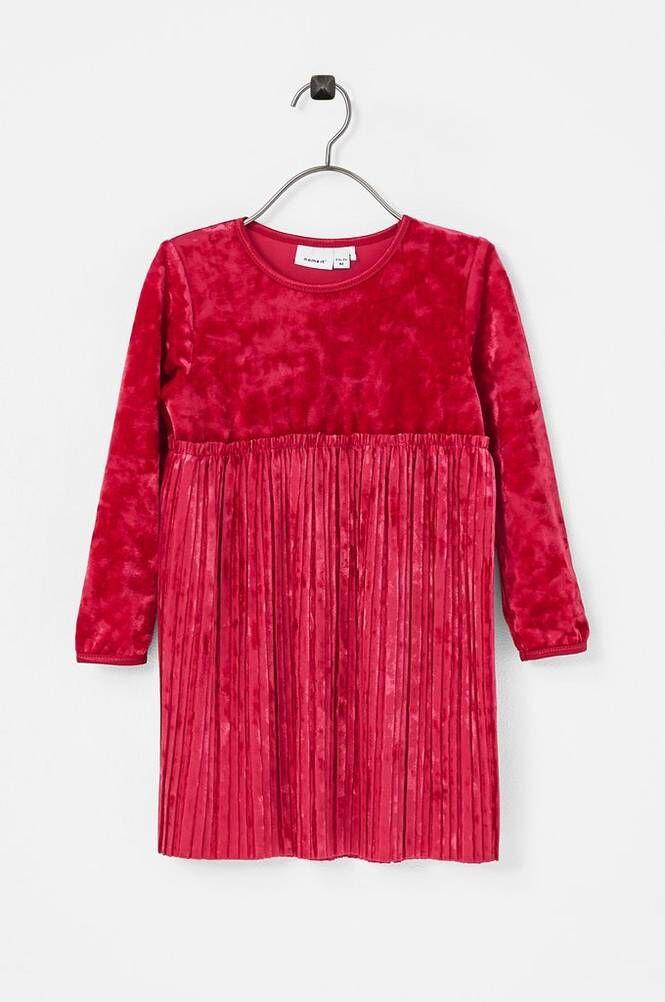 Name it NmfSelina LS Vel Dress mekko