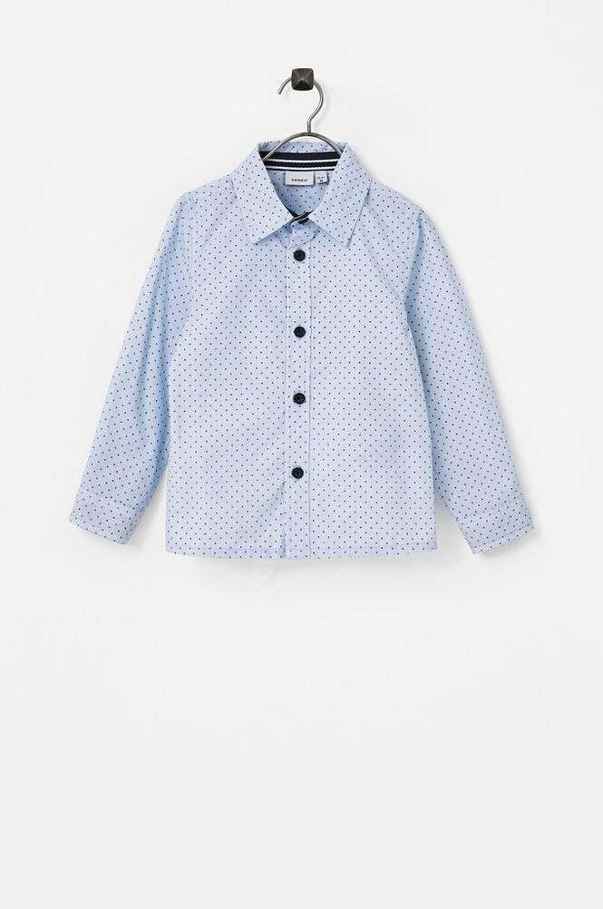 Name it NmmRusk LS Shirt Box -kauluspaita