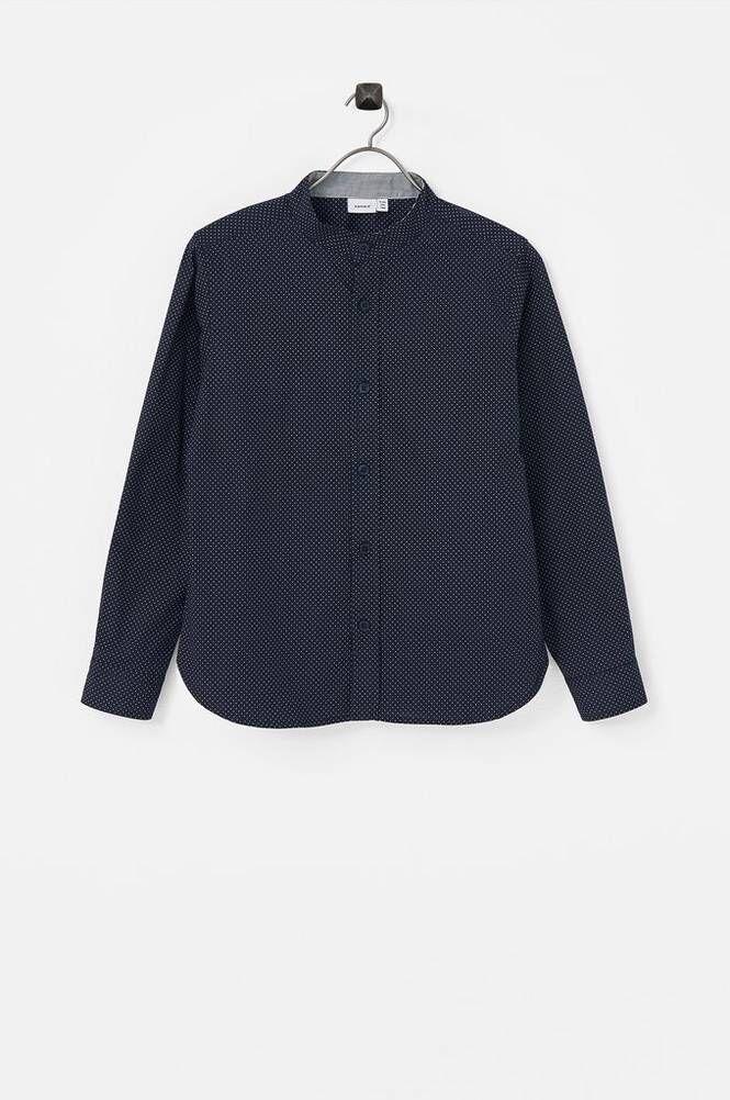 Name it NkmStoli LS Shirt Box kauluspaita