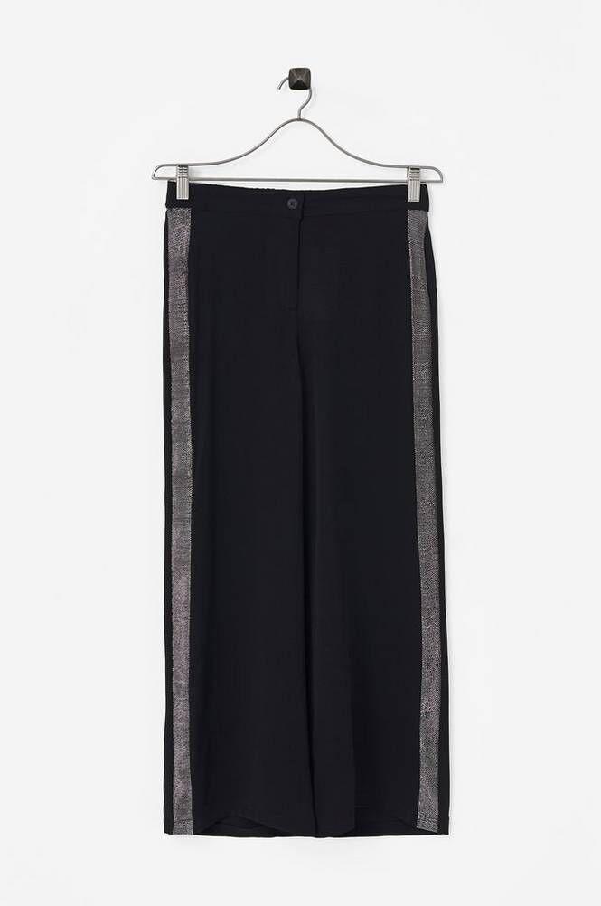 LMTD NlfSinger Reg-Baggy Pant Glitter -housut