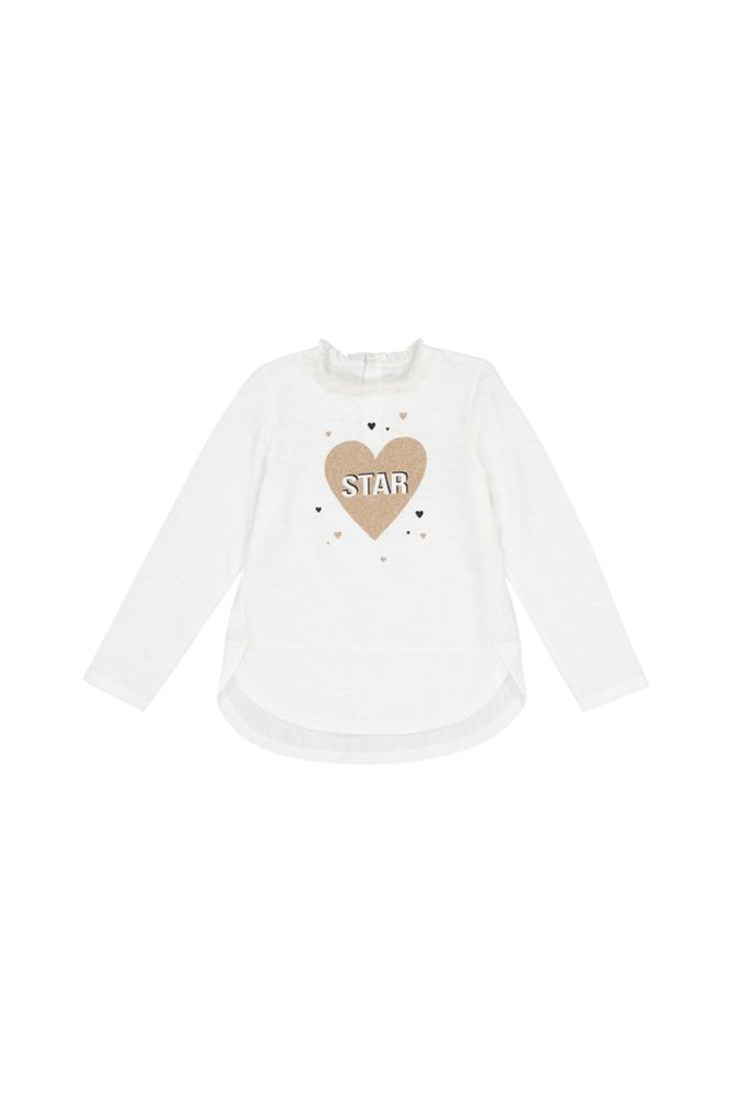 La Redoute Pitkähihainen pusero, jossa hohtava sydänkuvio