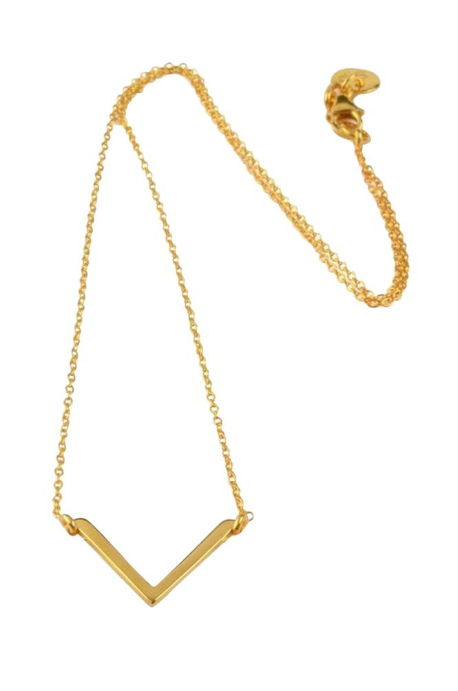Syster P Necklace Simple V -kaulakoru