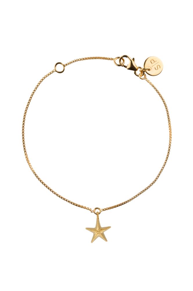 Syster P Beaches Starfish Bracelet -rannekoru