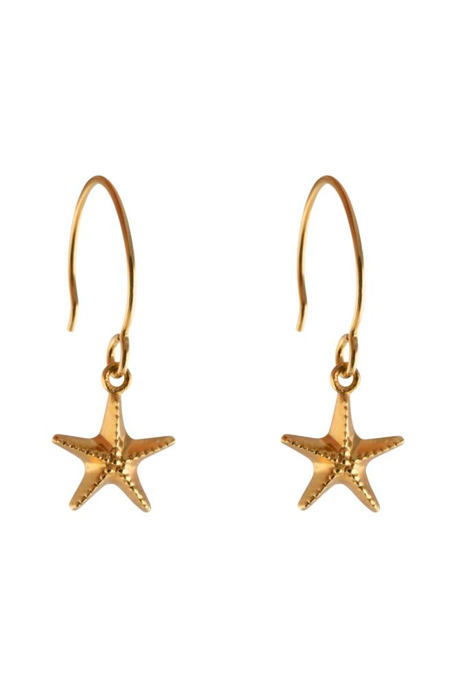 Syster P Beaches Earrings Starfish -korvakorut
