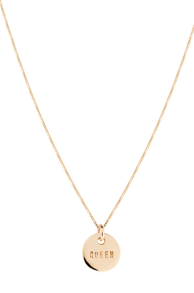 Emma Israelsson Queen Coin Necklace -kaulakoru