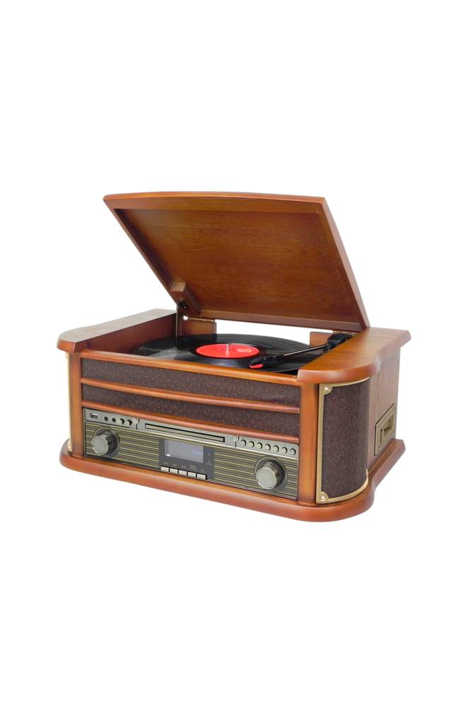 Soundmaster Retrolevysoitin Bluetooth NR545DAB