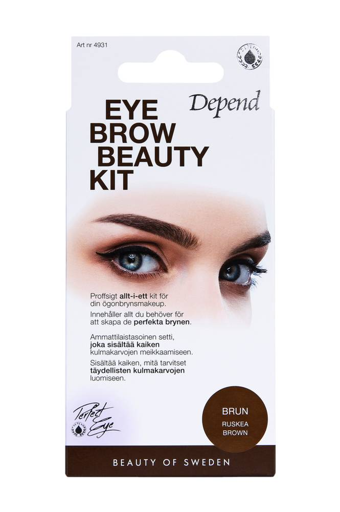 Depend Eyebrow Beauty Kit