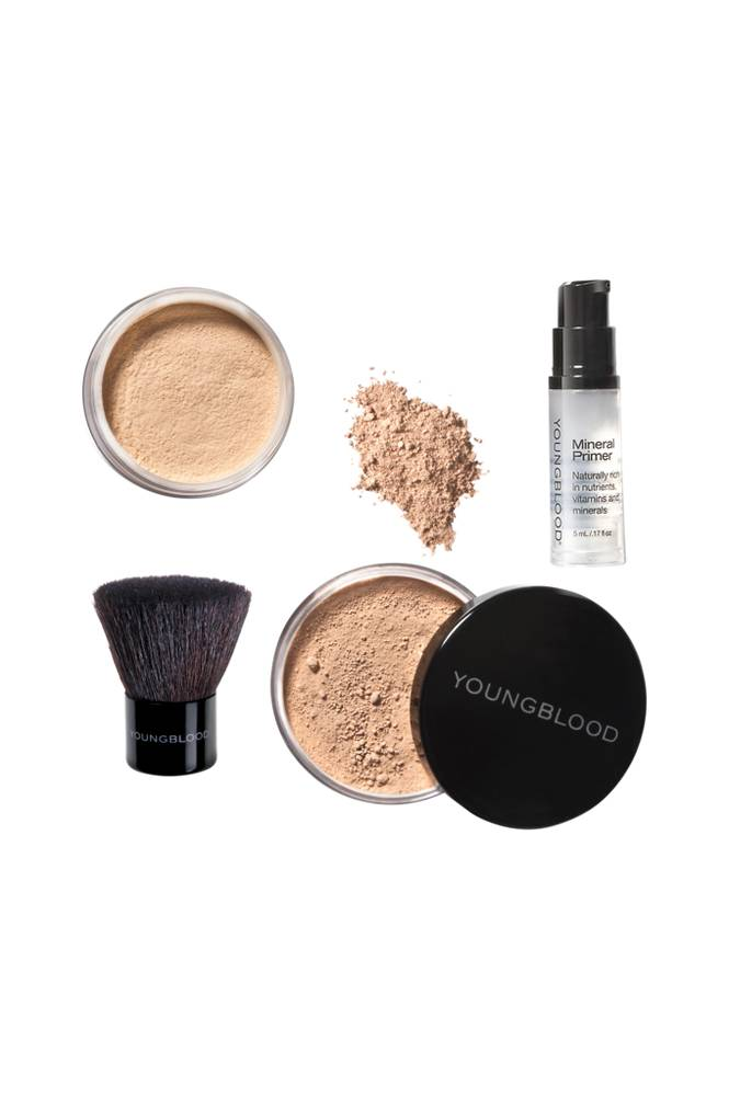 Youngblood Mineral Cosmetics Natural Loose Foundation Kit