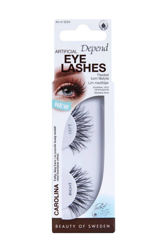 Depend Artificial Eyelashes Carolina