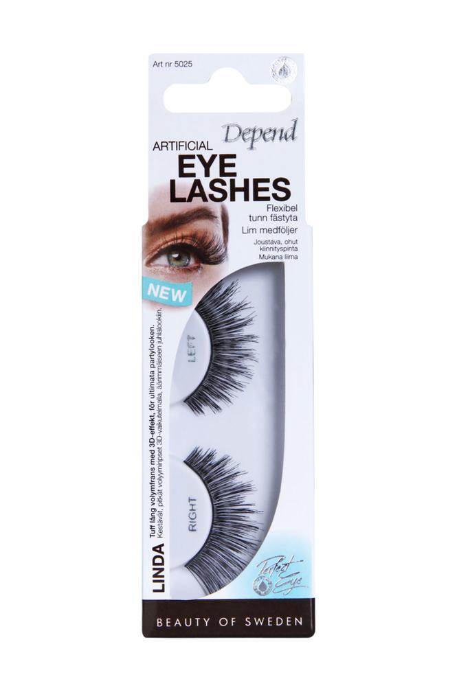 Depend Artificial Eyelashes Linda