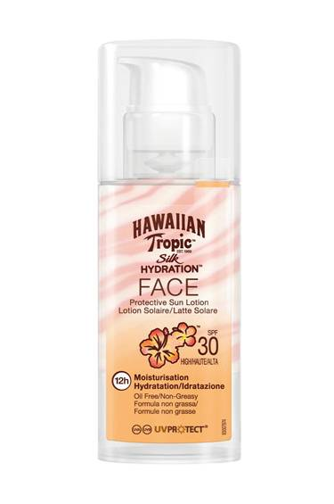 Hawaiian Tropic Silk Hydration Face Lotion Spf 30