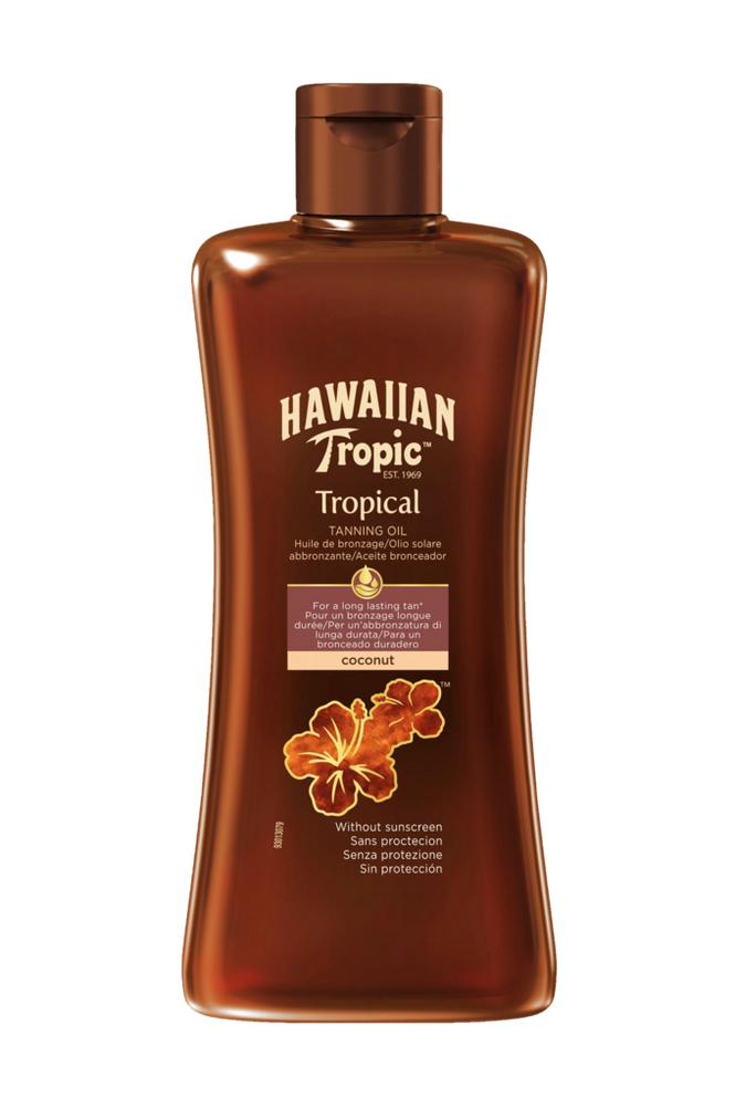Hawaiian Tropic Tanning Oil Dark