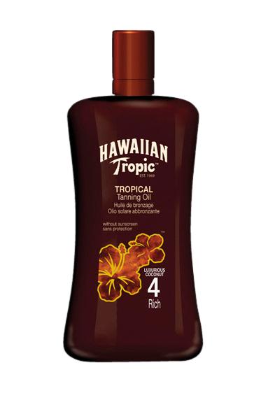 Hawaiian Tropic Tanning Oil Intense