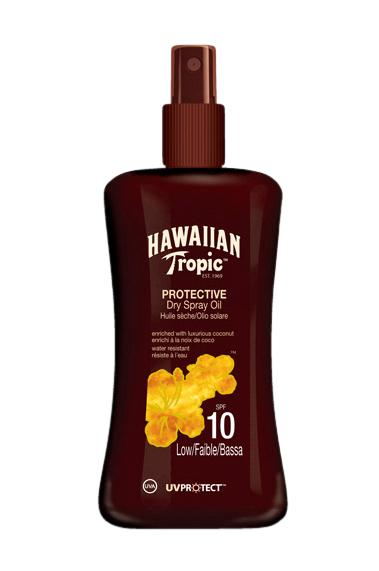 Hawaiian Tropic Protect. Dry Spray Oil Spf 10