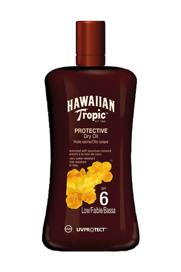 Hawaiian Tropic Protective Dry Oil Spf 6