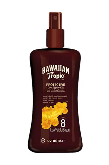 Hawaiian Tropic Protective Dry Spray Oil Spf