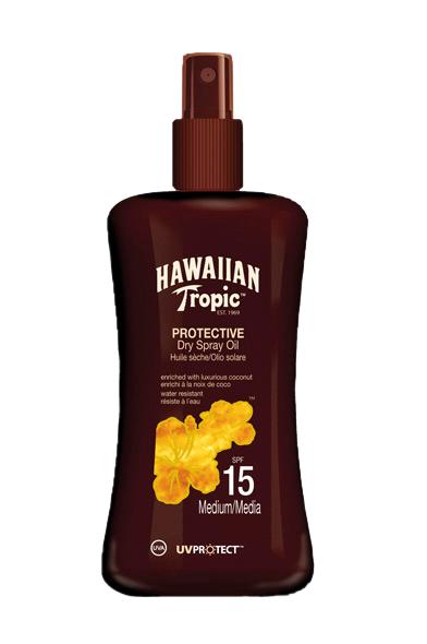 Hawaiian Tropic Protect. Dry Spray Oil Spf 15