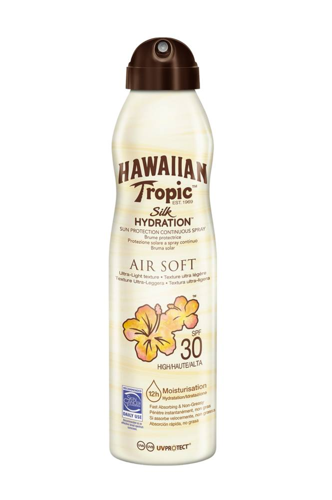 Hawaiian Tropic Silk Hydration Air Soft -aurinkosuoja SPF 30 177ml