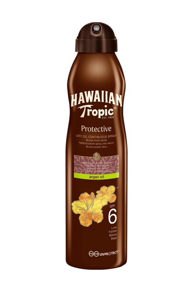 Hawaiian Tropic Dry Oil Argan -aurinkosuoja SPF 6 180 ml