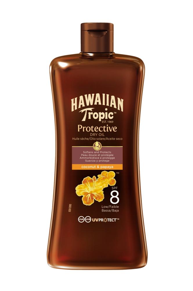 Hawaiian Tropic Protective Dry Oil SPF 8 100ml