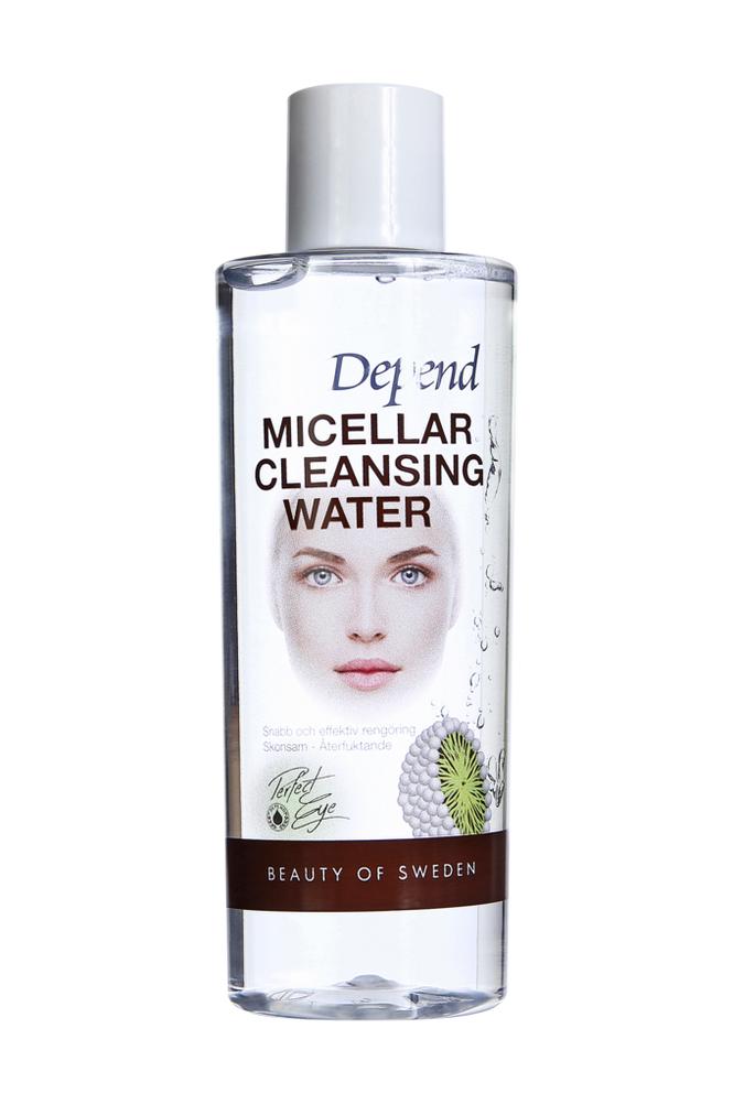 Depend Micellar Cleansing Water Face & Eye