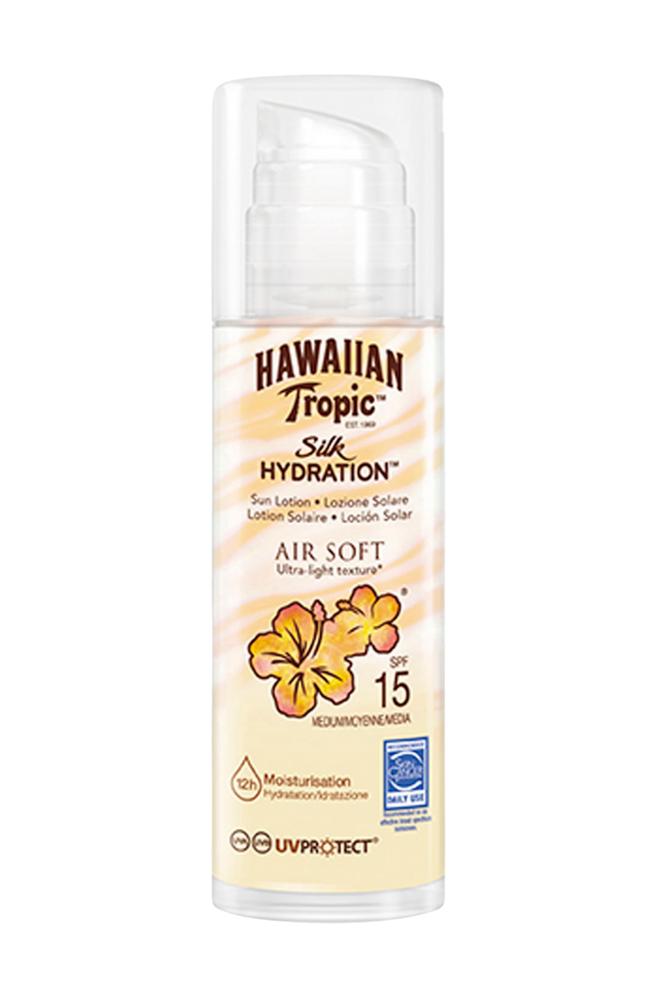 Hawaiian Tropic Silk Hydration Air Soft Pump Sun Lotion SPF 15 150 ml