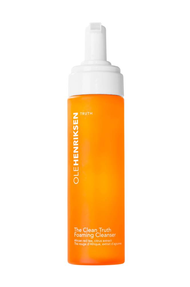 Ole Henriksen THE CLEAN TRUTH FOAMING CLEANSER 207 ML - BRIGHTENS & MINIMIZES FINE LINES