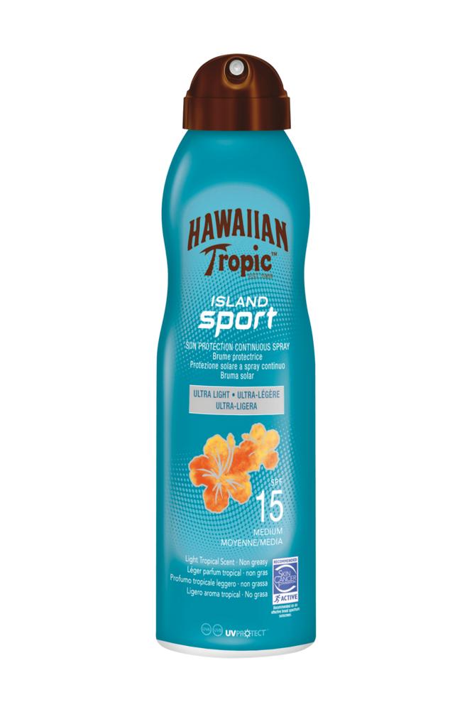 Hawaiian Tropic Hawaiian Island Sport SPF 15. 220 ml