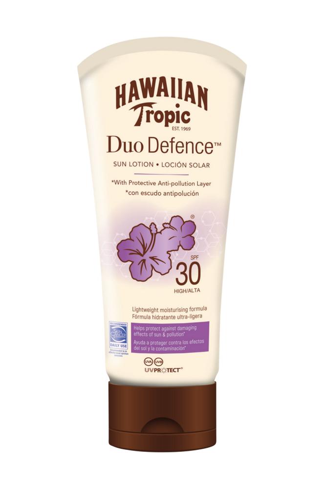 Hawaiian Tropic Hawaiian DuoDefence Sun Lotion SPF 30. 180 ml