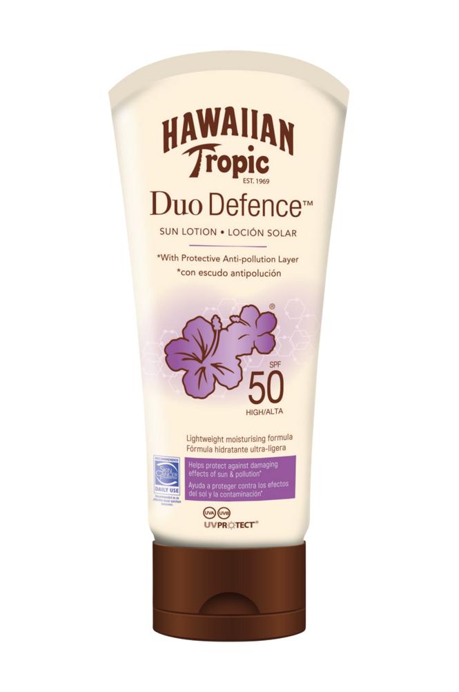 Hawaiian Tropic Hawaiian DuoDefence Sun Lotion SPF 50. 180 ml
