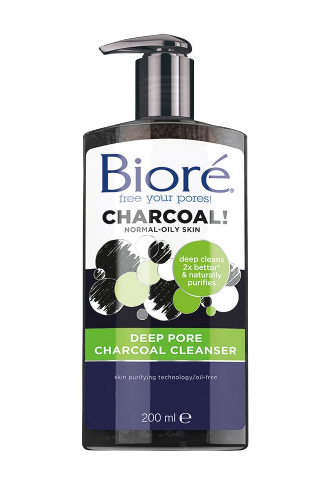 Bioré Deep Pore Charcoal Cleanser 200ml