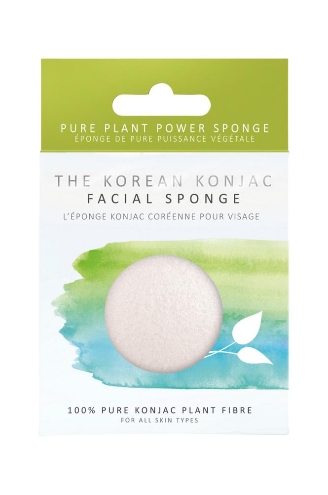 Konjac Sponge Premium Pure White Sponge