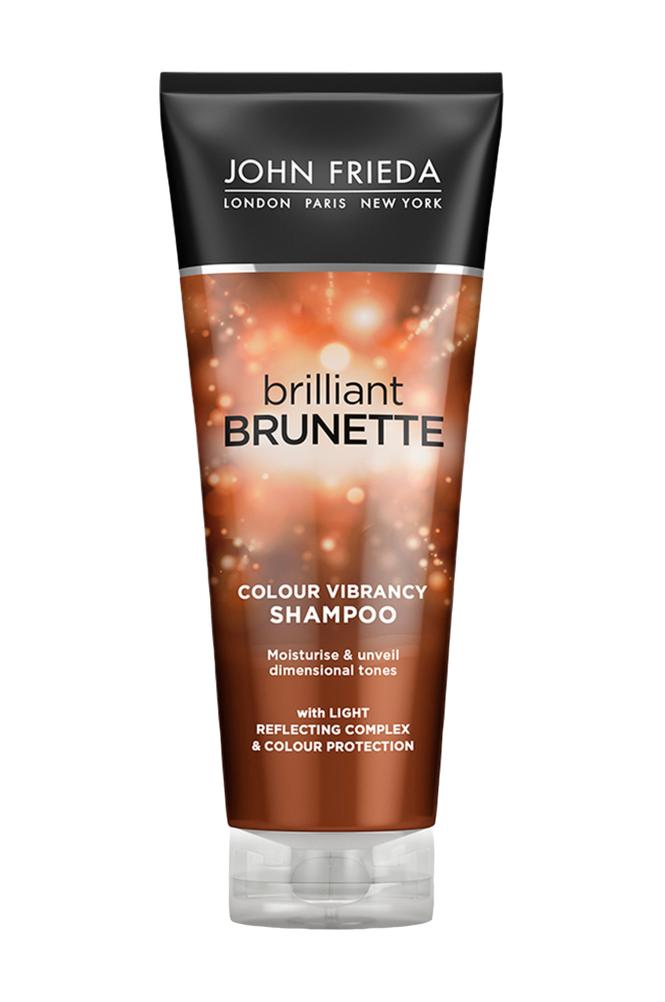 John Frieda Brilliant Brunette Color Protecting Moisturising Shampoo 250ml