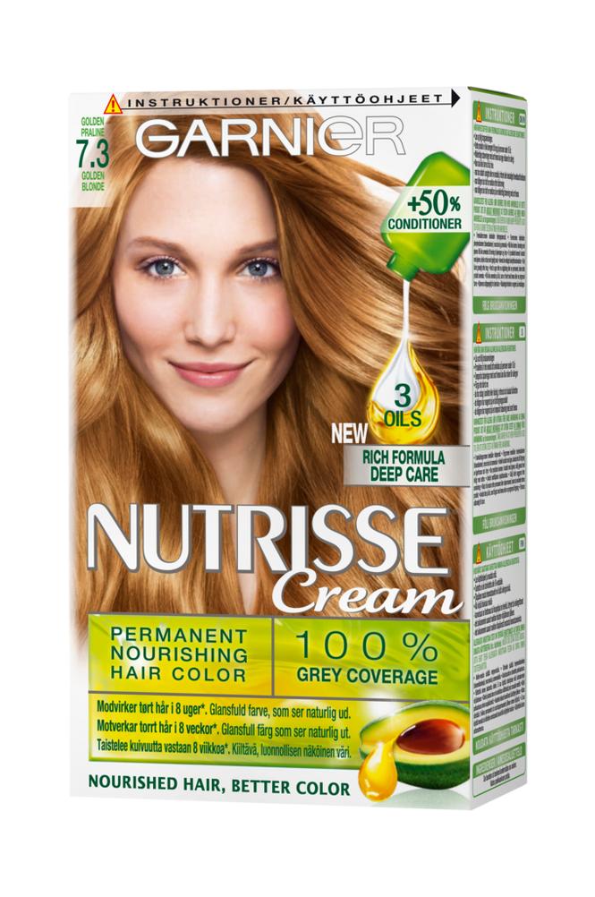 Garnier Nutrisse Golden Praline 7.3