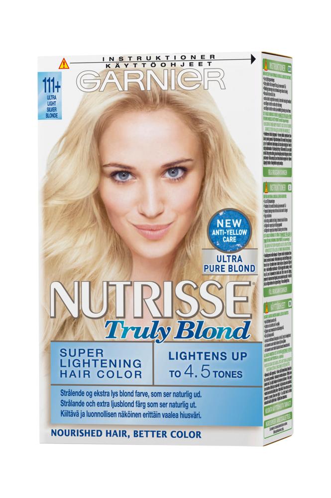 Garnier Nutrisse Truly Blond Ultra Light Silver Blonde 111+