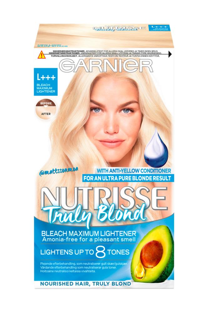 Garnier Nutrisse Truly Blond Ultimate Blonding L+++ -hiusväri