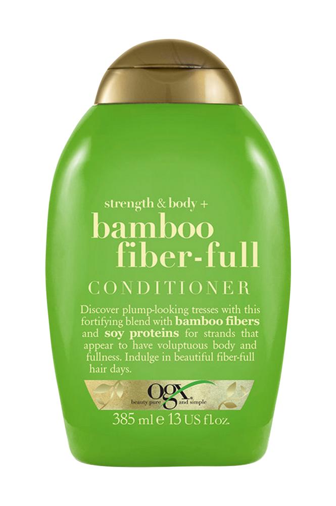 Ogx Strength & Body + Bamboo Fiber-Full Shampoo 385 ml