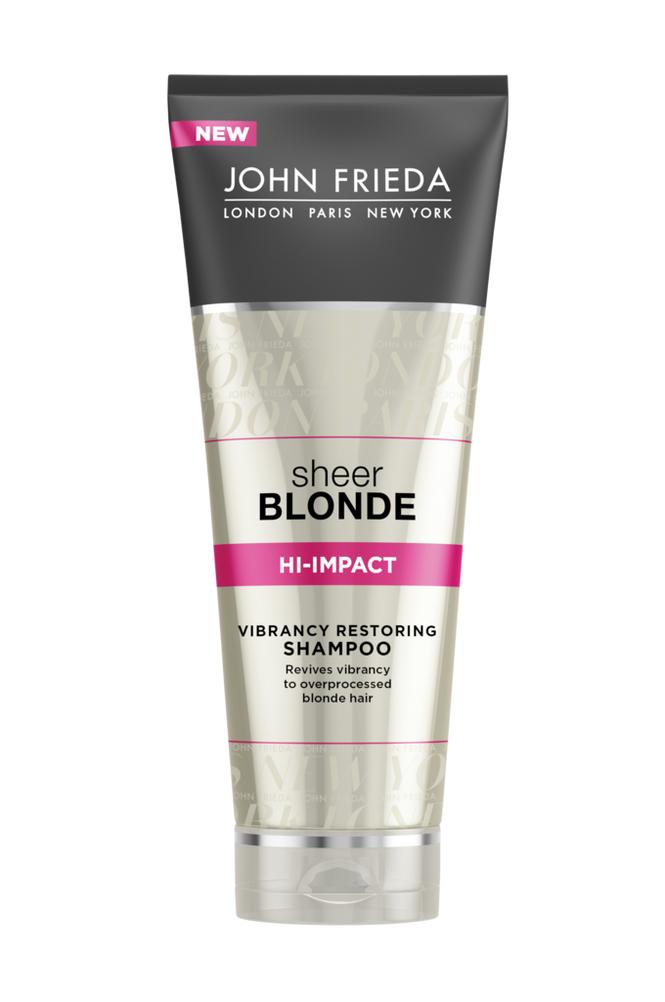 John Frieda Hi-Impact Restoring Shampoo250ml Sheer Blonde