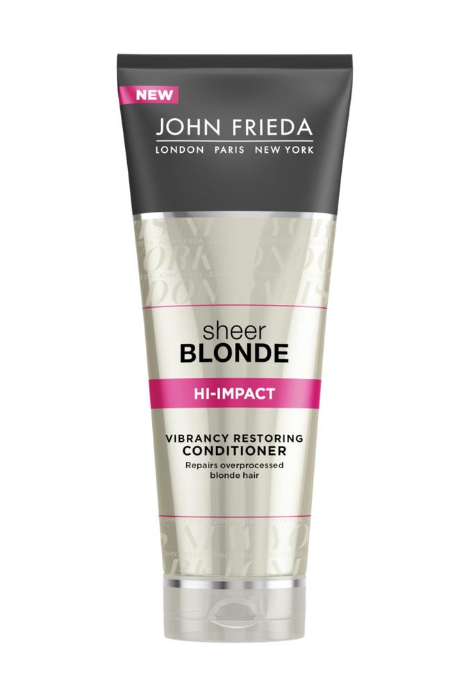 John Frieda Hi-Impact Restoring Conditioner 250ml Sheer Blonde