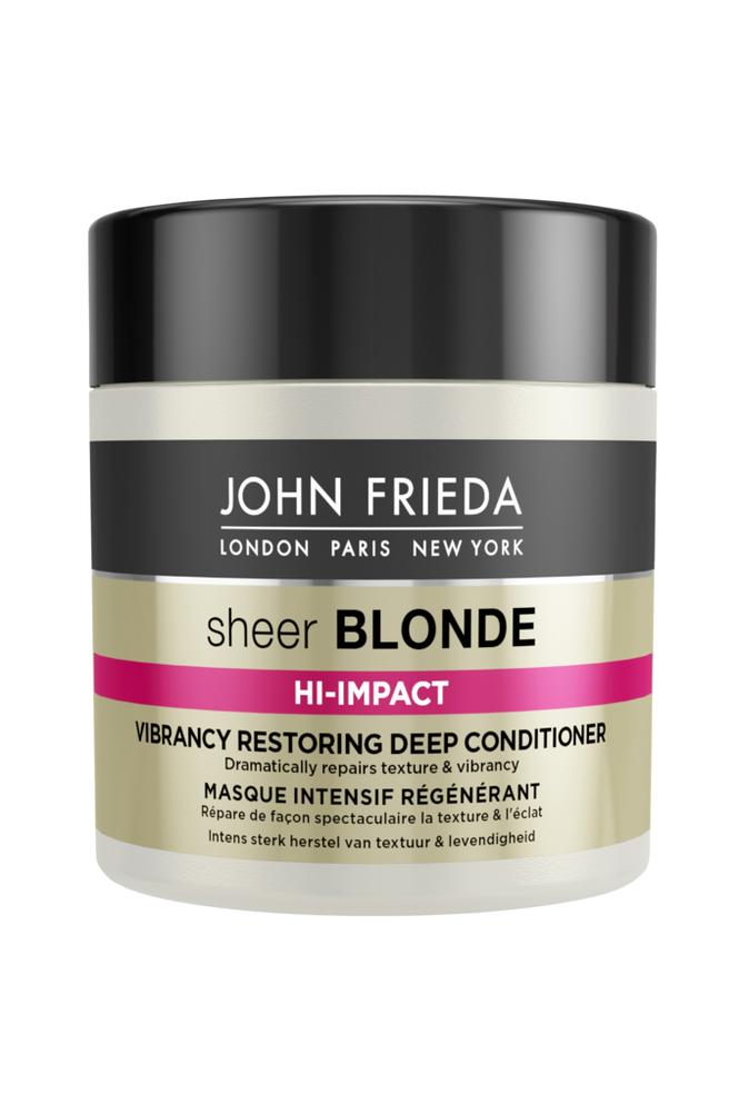 John Frieda Hi-Impact Restoring Deep Conditioner 150ml Sheer Blonde