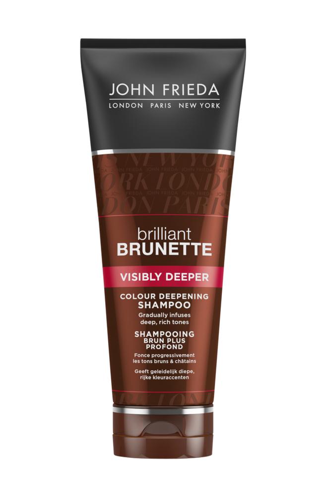 John Frieda Visibly Deeper Shampoo 250ml Brilliant Brunette
