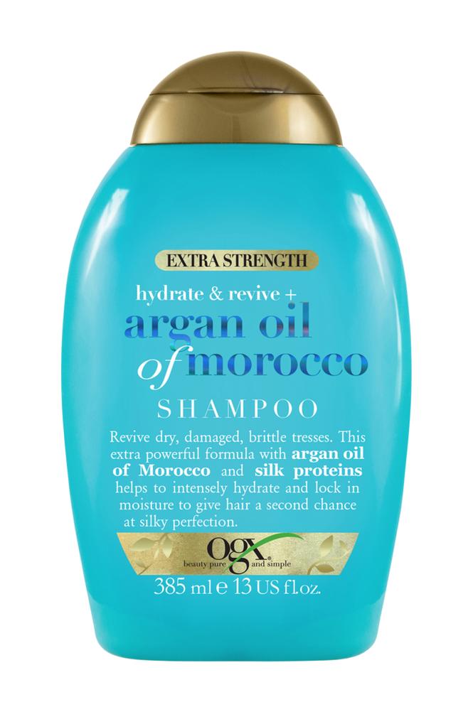 Ogx Argan Extra Strength Shampoo 385 ml